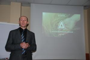 Az Adama Slovakia vegyszzerforgalmazó cég képviseletében Ervin Máťuš több újdonságot is bemutatott
